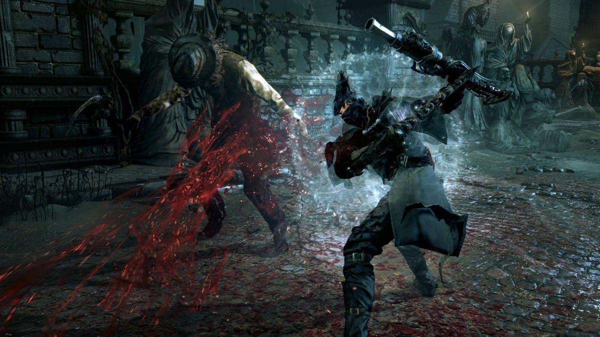 Bloodborne aggressive
