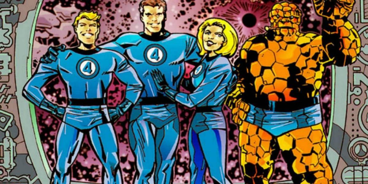 Fantastic Four comics panel