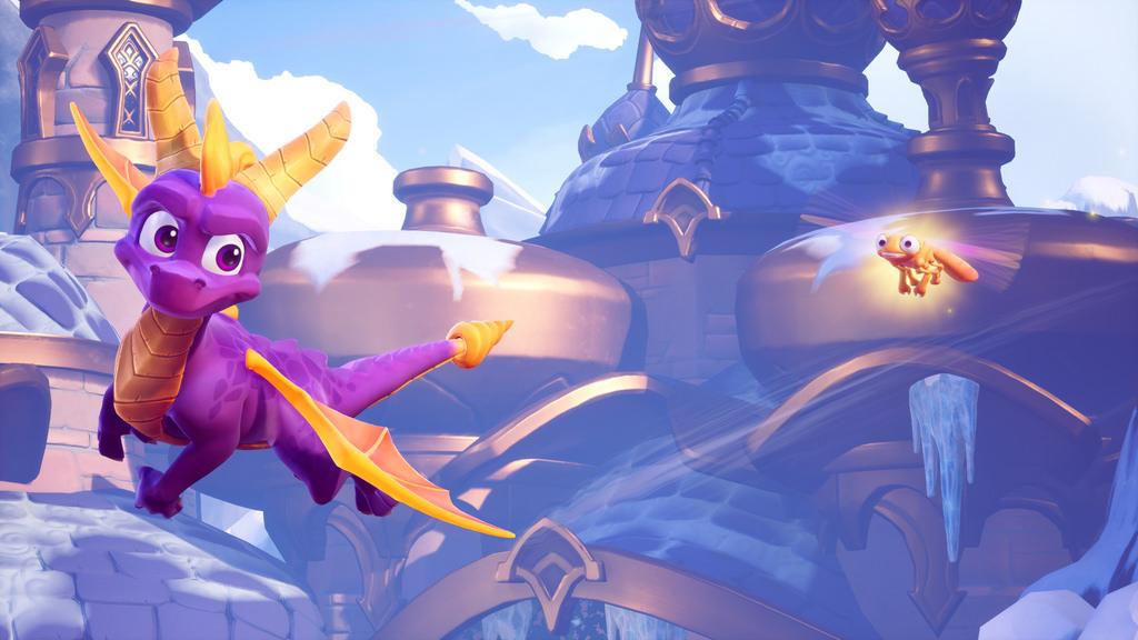 Spyro trilogy remaster