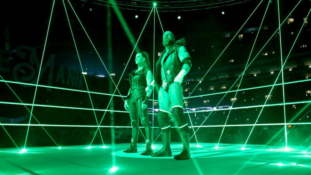Triple H steph WrestleMania 34