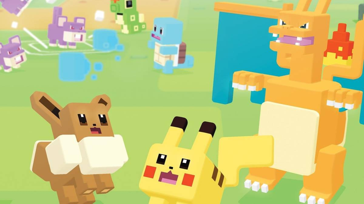 Pokémon Quest is Just Sort of There