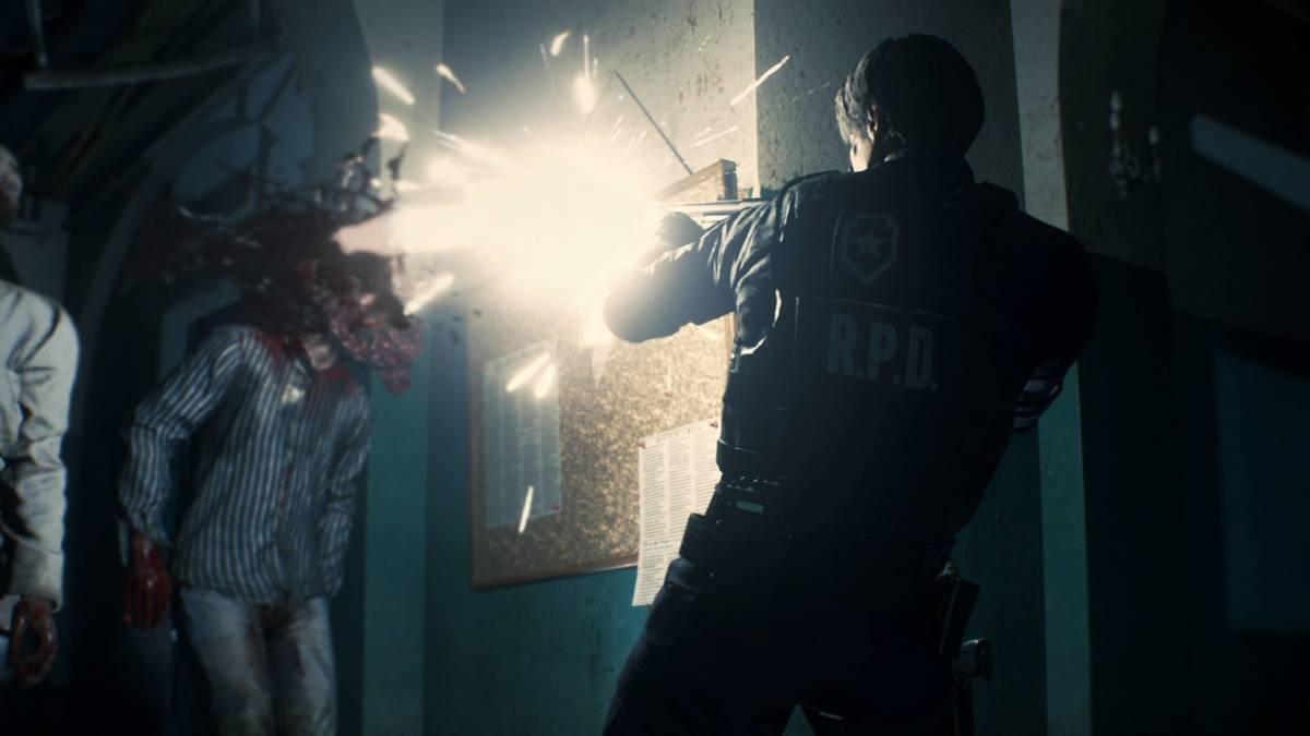 Resident Evil 2 remake 8