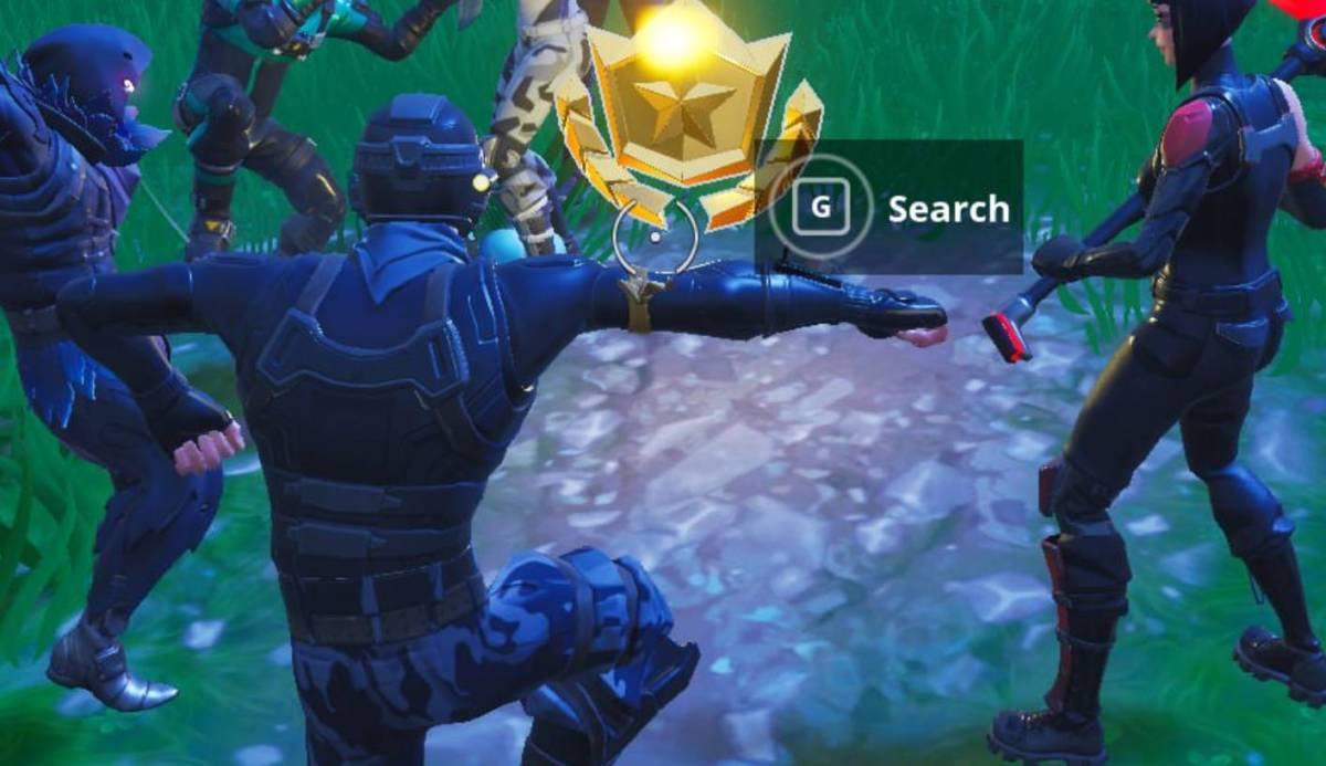Fortnite Season 4 Guide: Search Between A Bear, Crater And