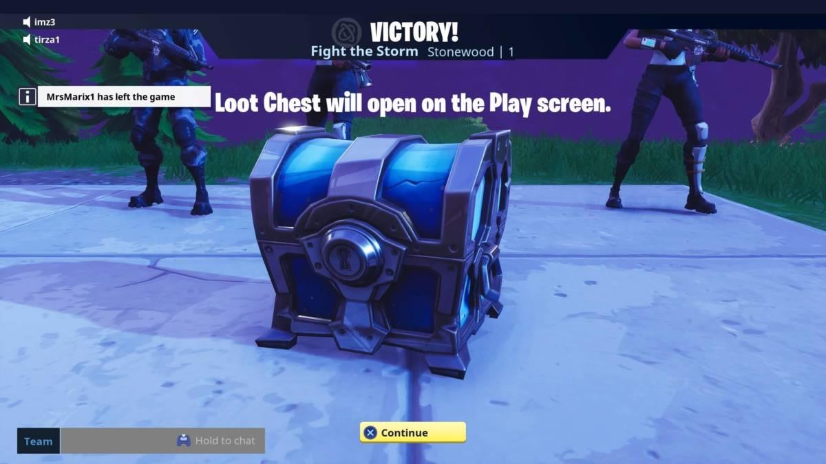 Fortnite loot chests