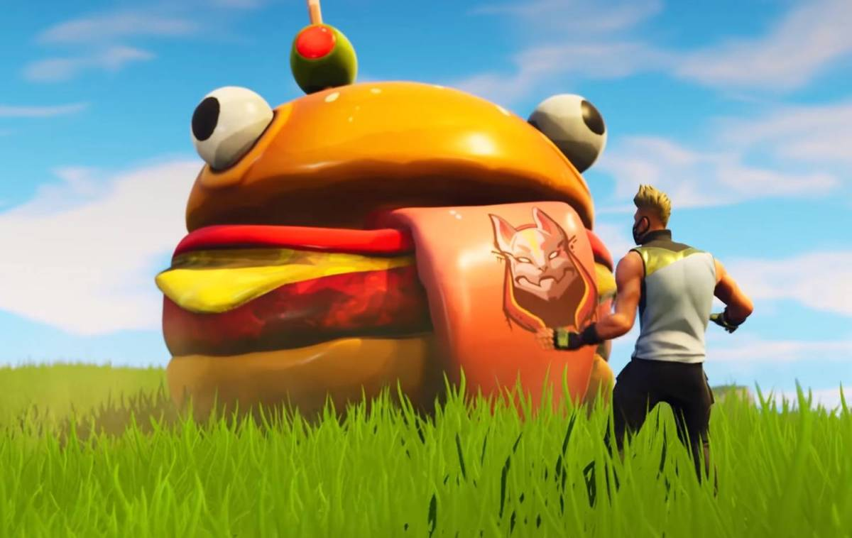 Durr Burger Skin Finally Coming To Fortnite Cultured Vultures