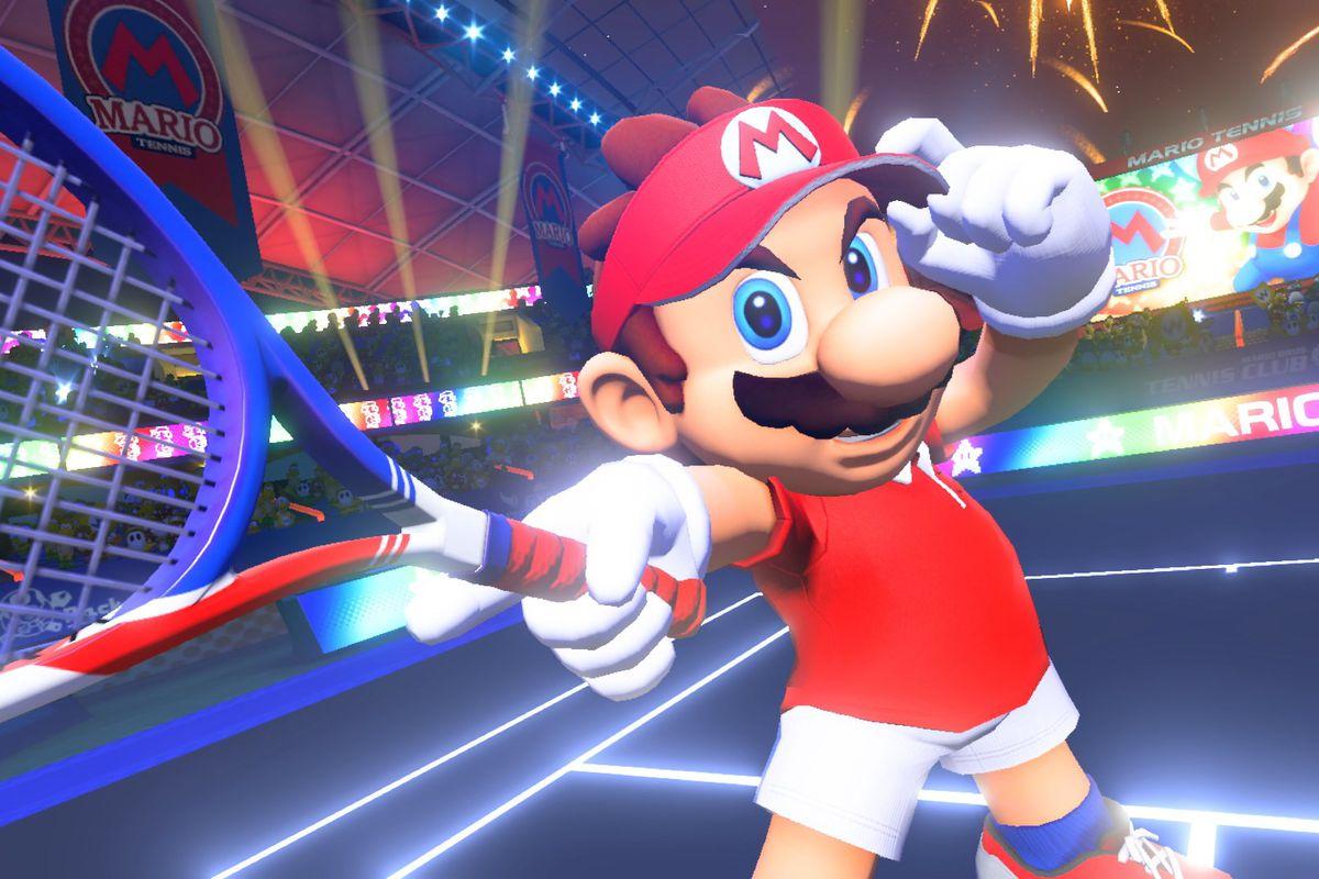 Mario Tennis Aces 1