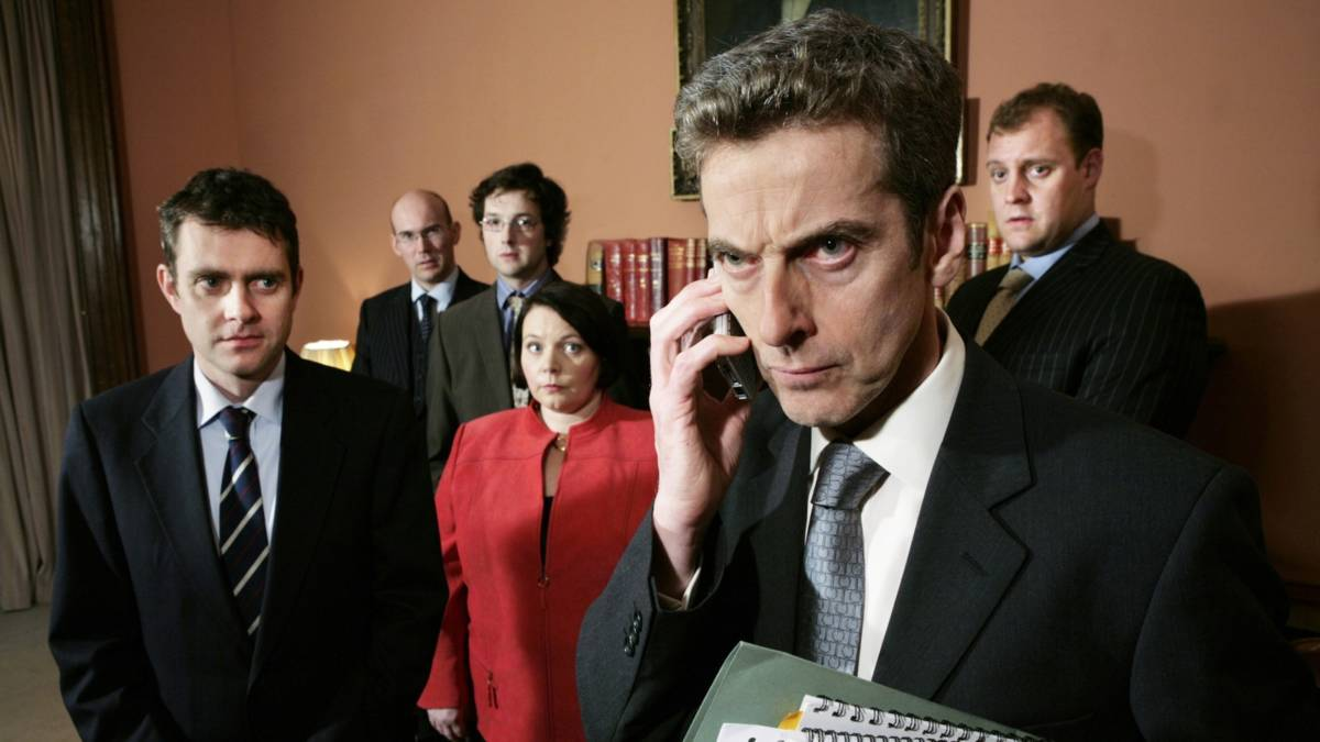 The Thick of IT peter capaldi comedy show