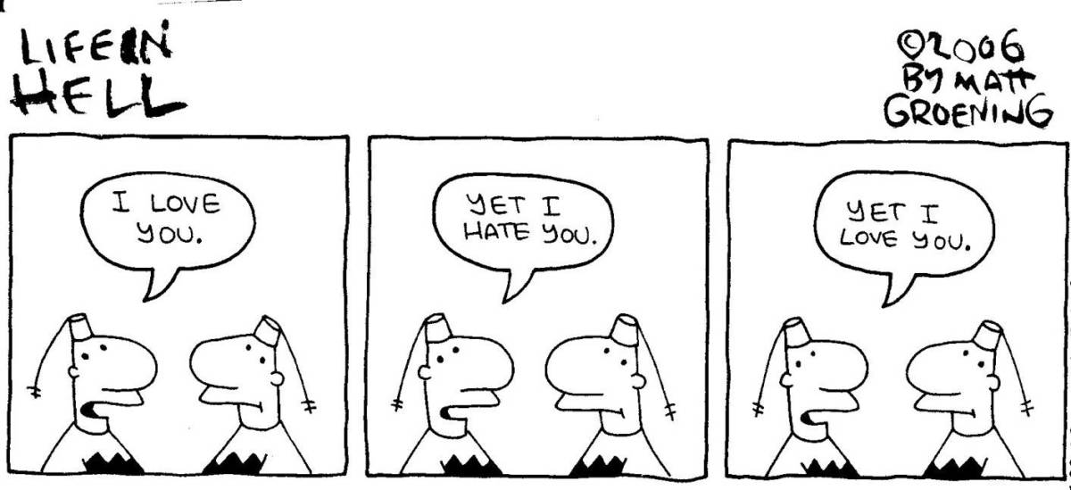 life in hell matt groening