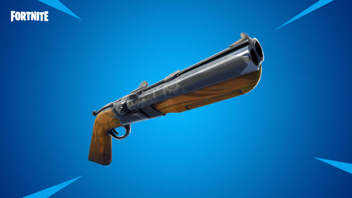 Fortnite Season 7 Vaults Chillers Double Barrel Shotgun More
