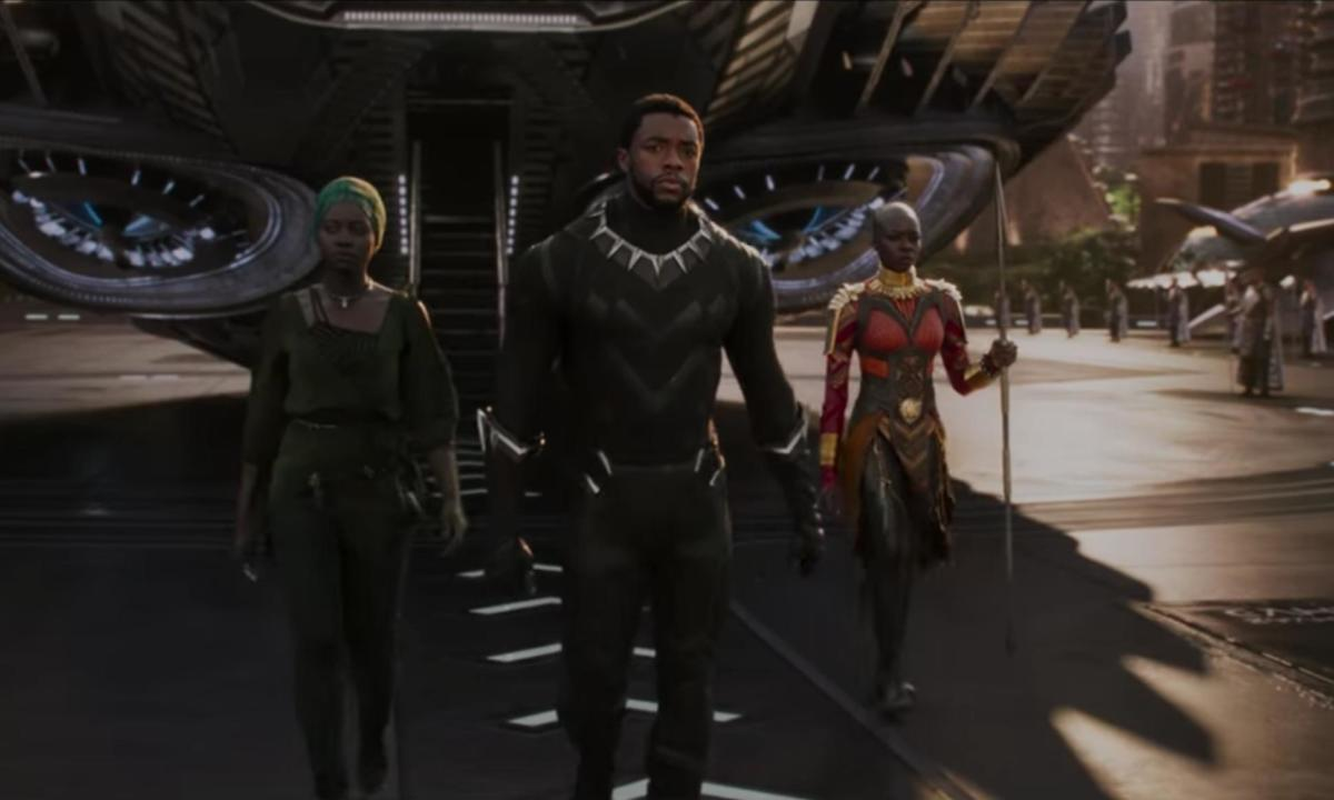 black panther chadwick boseman lupita nyong'o science fiction