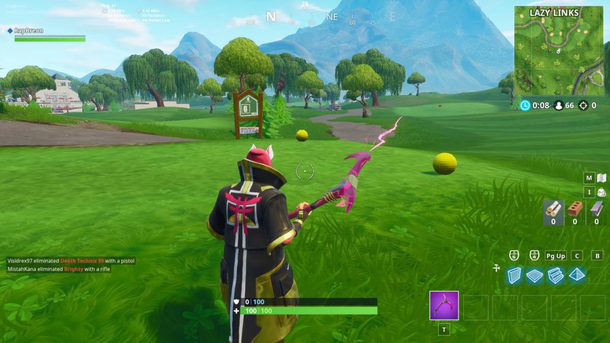 Fortnite golf tee