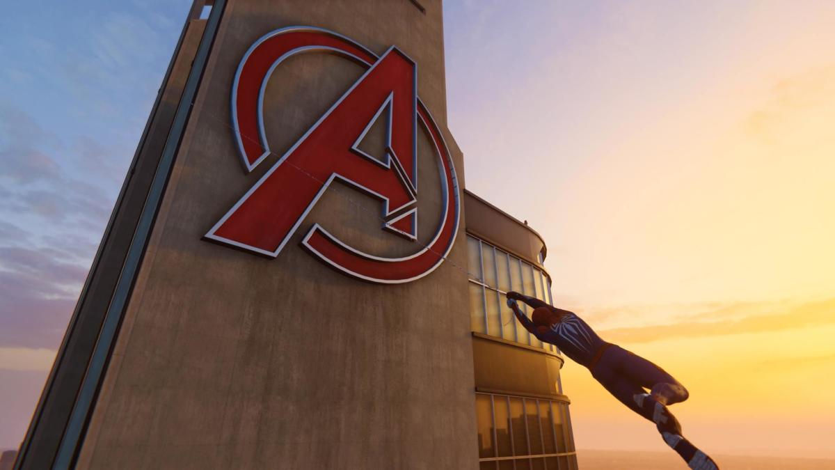 marvel s spider man ps4 guide how to find the avengers tower