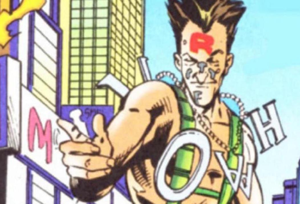 Typeface Spider-Man
