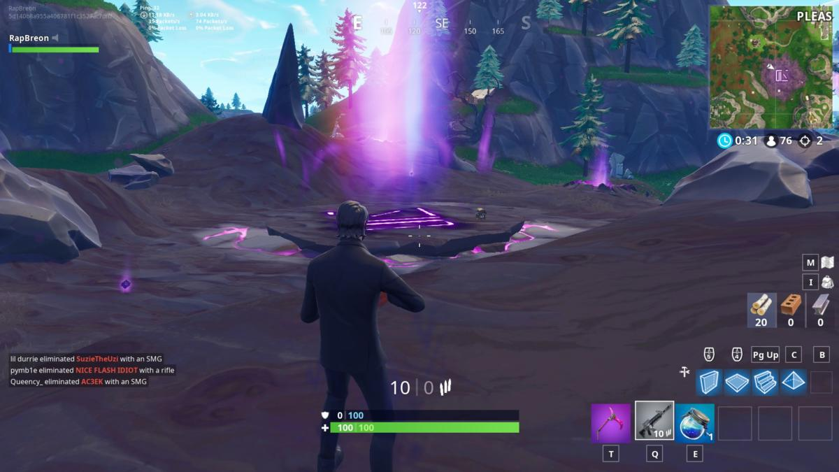 Fortnite Season 6 Guide Visit All Of The Corrupted Areas