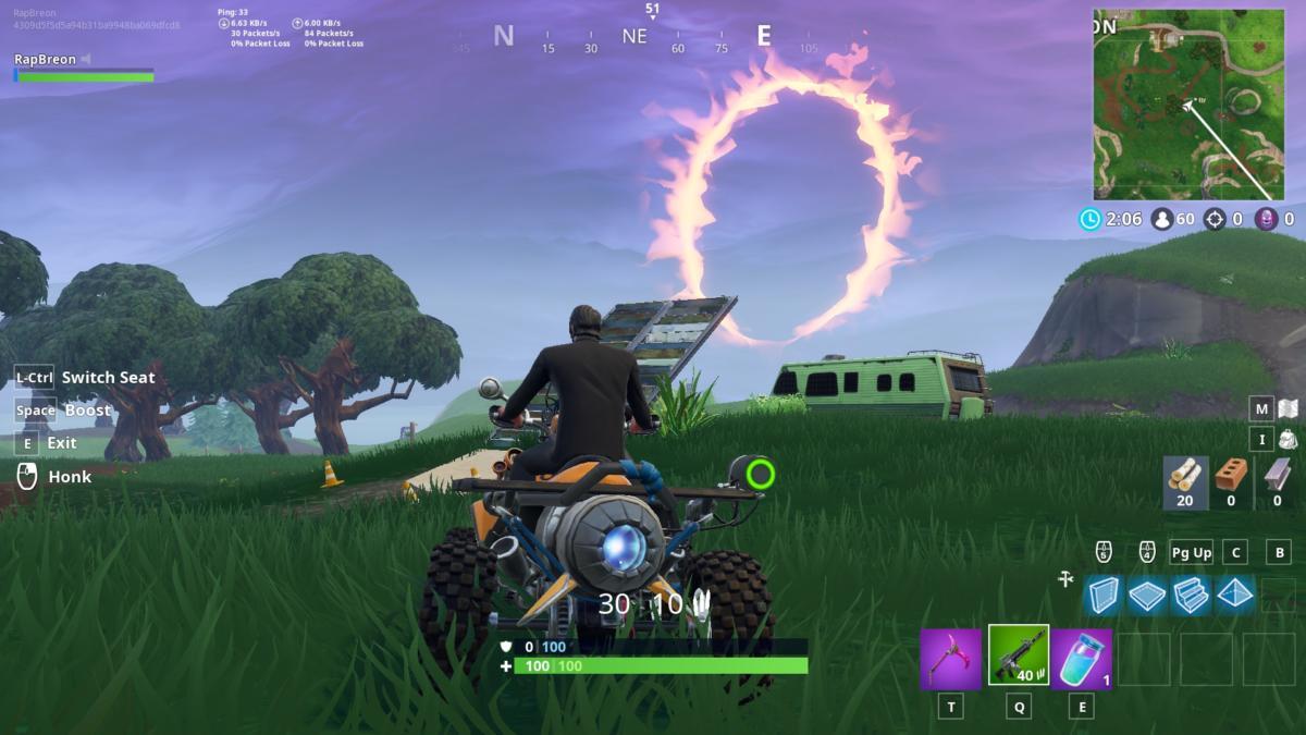 Fortnite Season 6 Guide Jump Through 5 Flaming Hoops