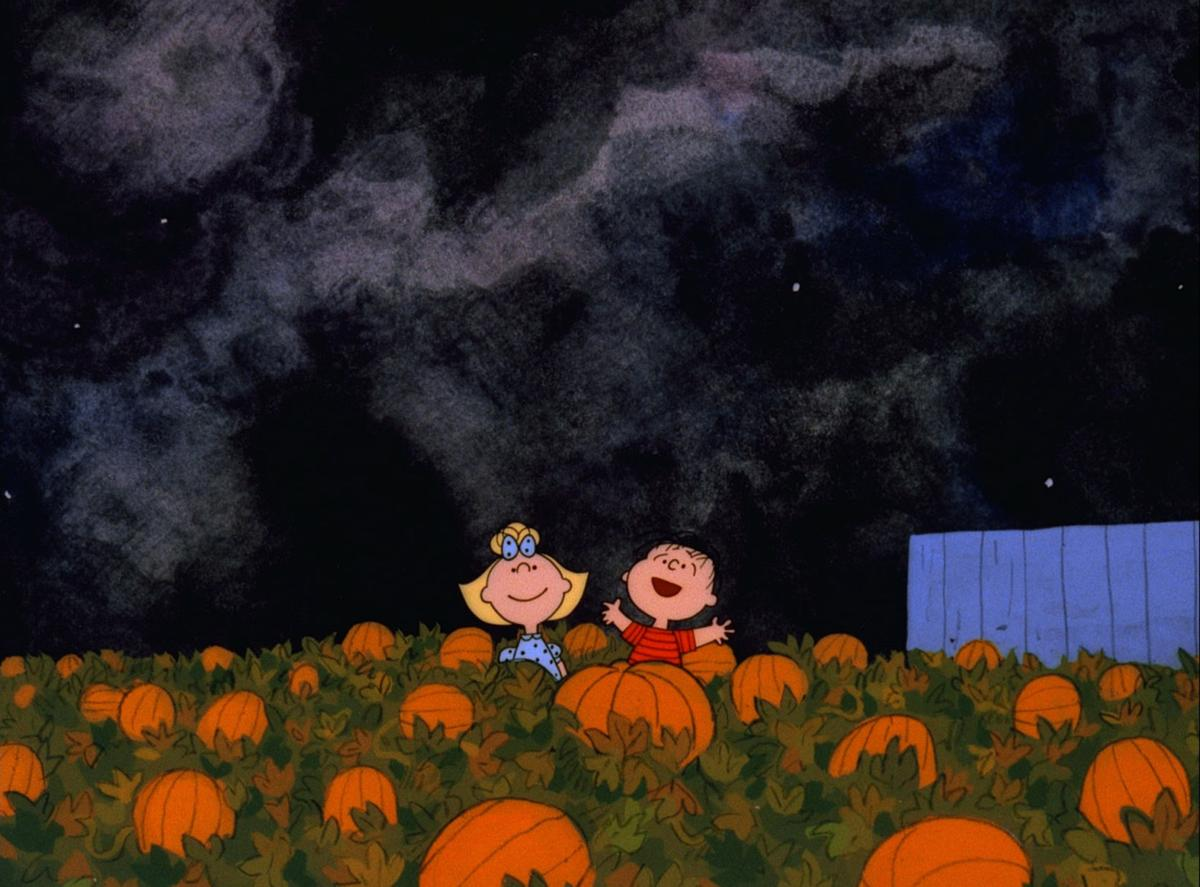 it's the great pumpkin charlie brown halloween special