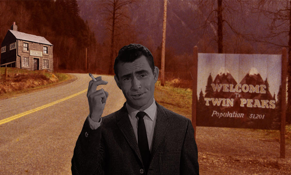the twilight zone rod serling twin peaks league of gentlemen