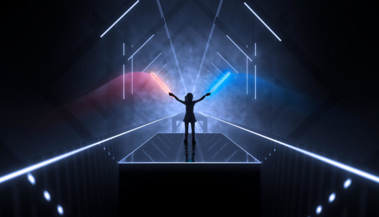 Beat Saber PSVR rhythmic, sword game launches November 20th