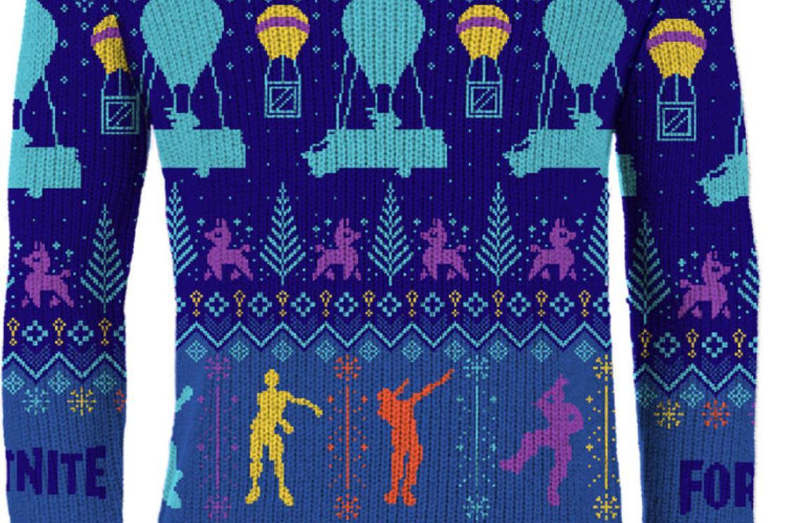 Fortnite Christmas Jumper