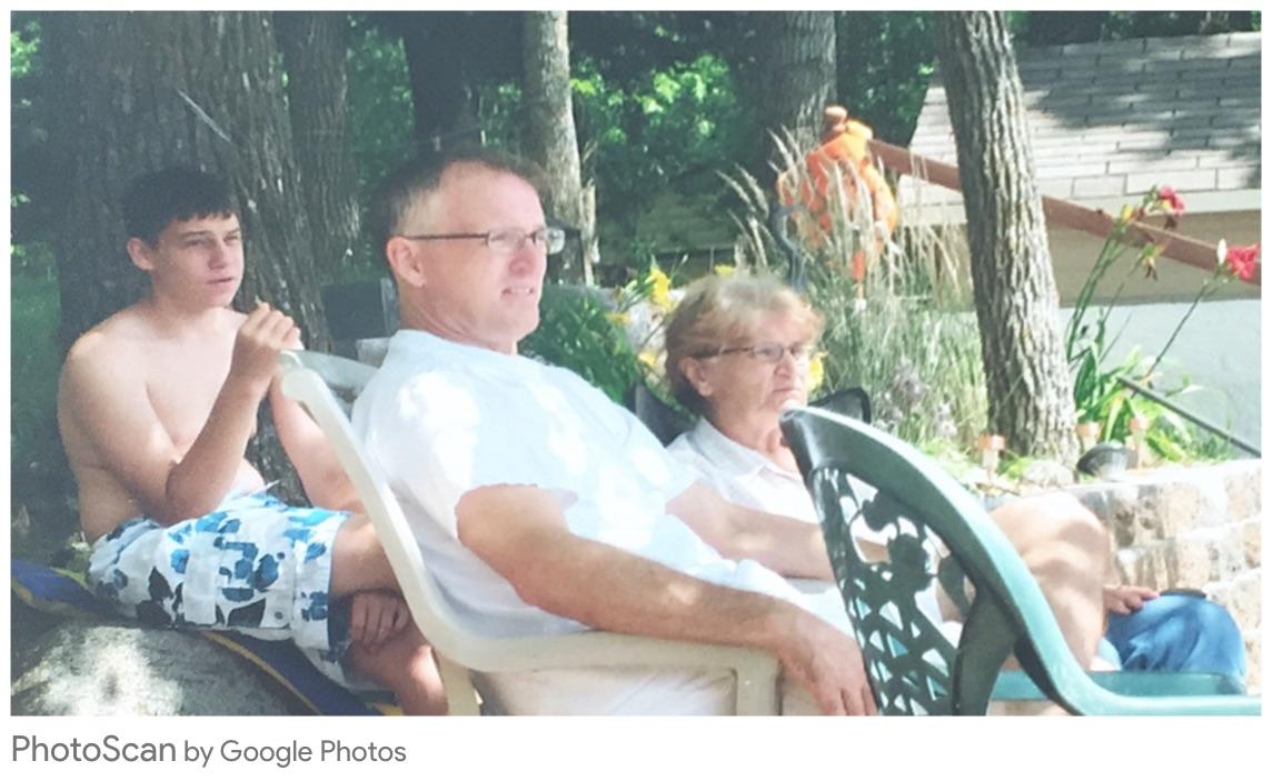 Grandma, Me and Tim