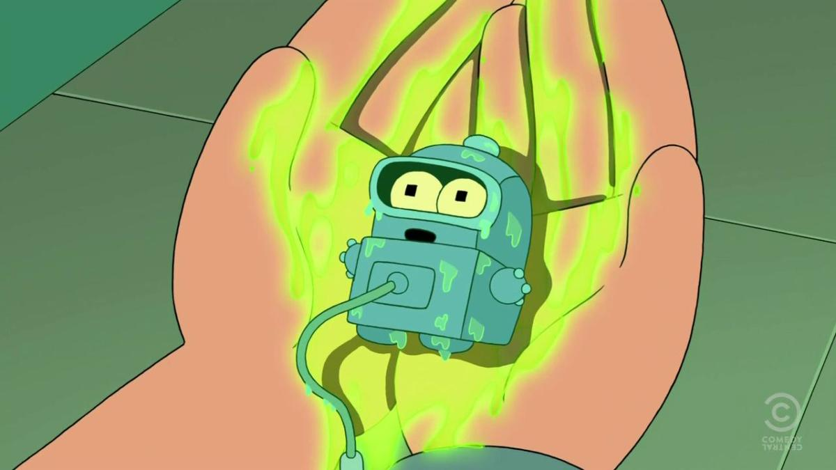 futurama the bots and the bees