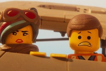 The lego movie 2: Eliot and Wyldstyle