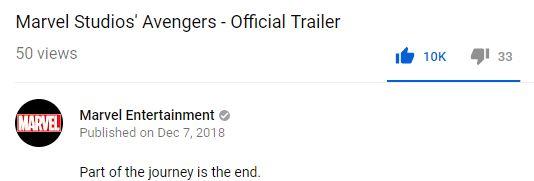 Avengers 4 Endgame youtube