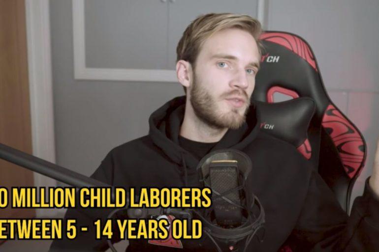 PewDiePie charity