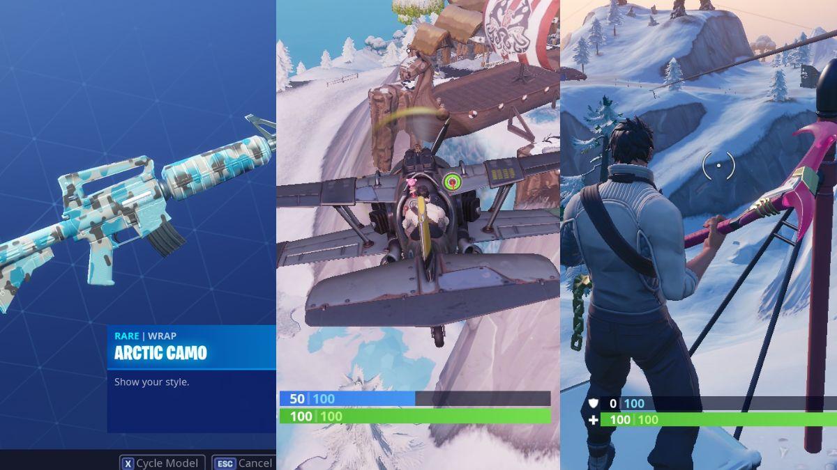 Fortnite Season 7 Map Changes