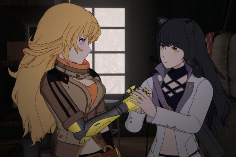 rwby the coming storm