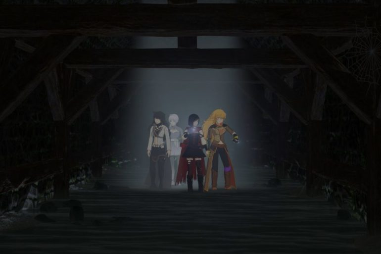 rwby alone in the woods