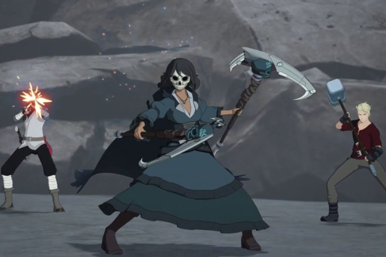 rwby the grimm reaper