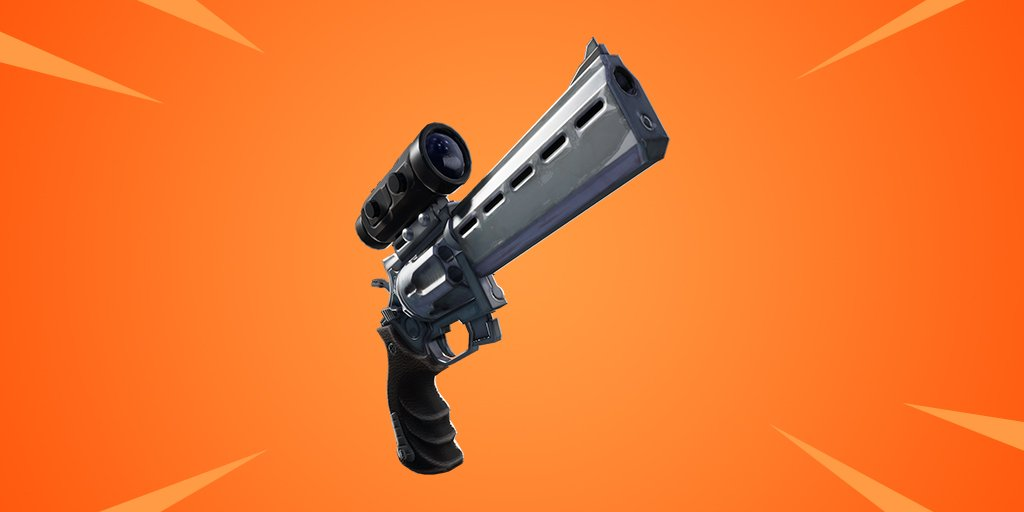 Fortnite Scoped Revolver Coming Soon Cultured Vultures