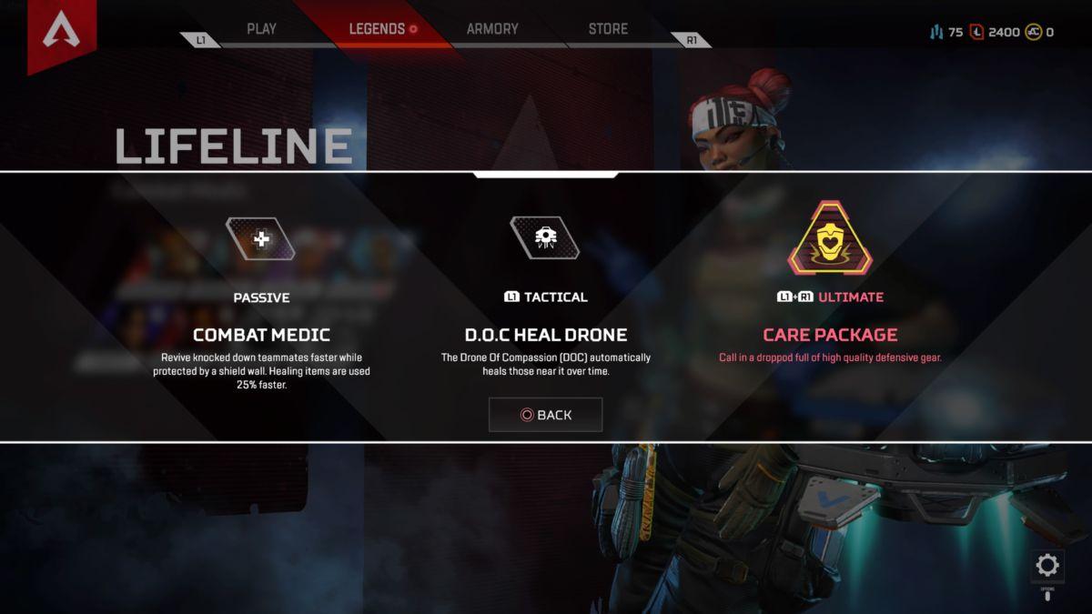 Lifeline Apex Legends