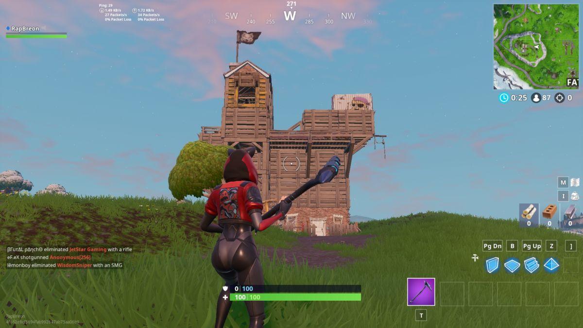 Fortnite pirate camp