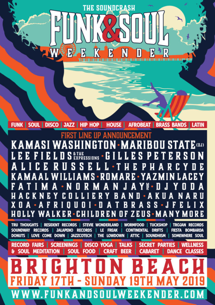 Funk and Soul Weekender lineup