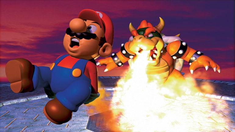 Super Mario 64 Best Platformer Games