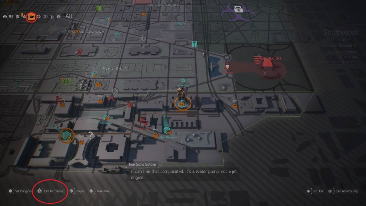 The Division 2 on call