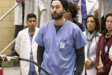 "NEW AMSTERDAM -- ""Preventable"" Episode 120 -- Pictured: Ryan Eggold as Dr. Max Goodwin -- (Photo by: Francisco Roman/NBC)"
