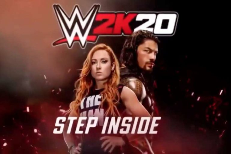WWE 2K20 Cover Stars
