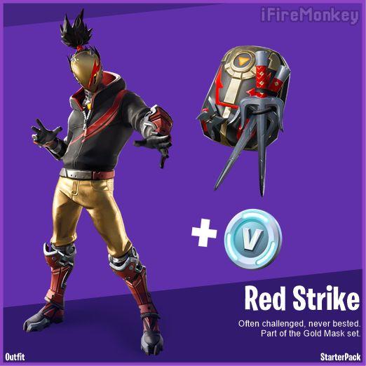 Fortnite Red Strike
