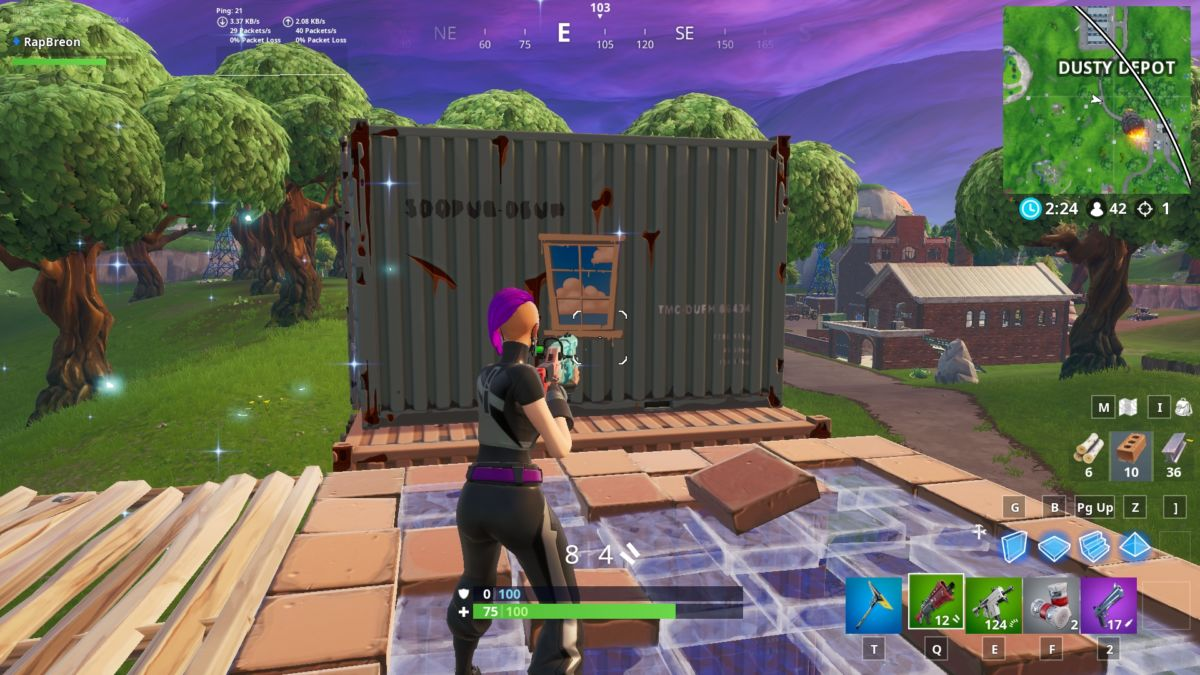 Fortnite Window Containers