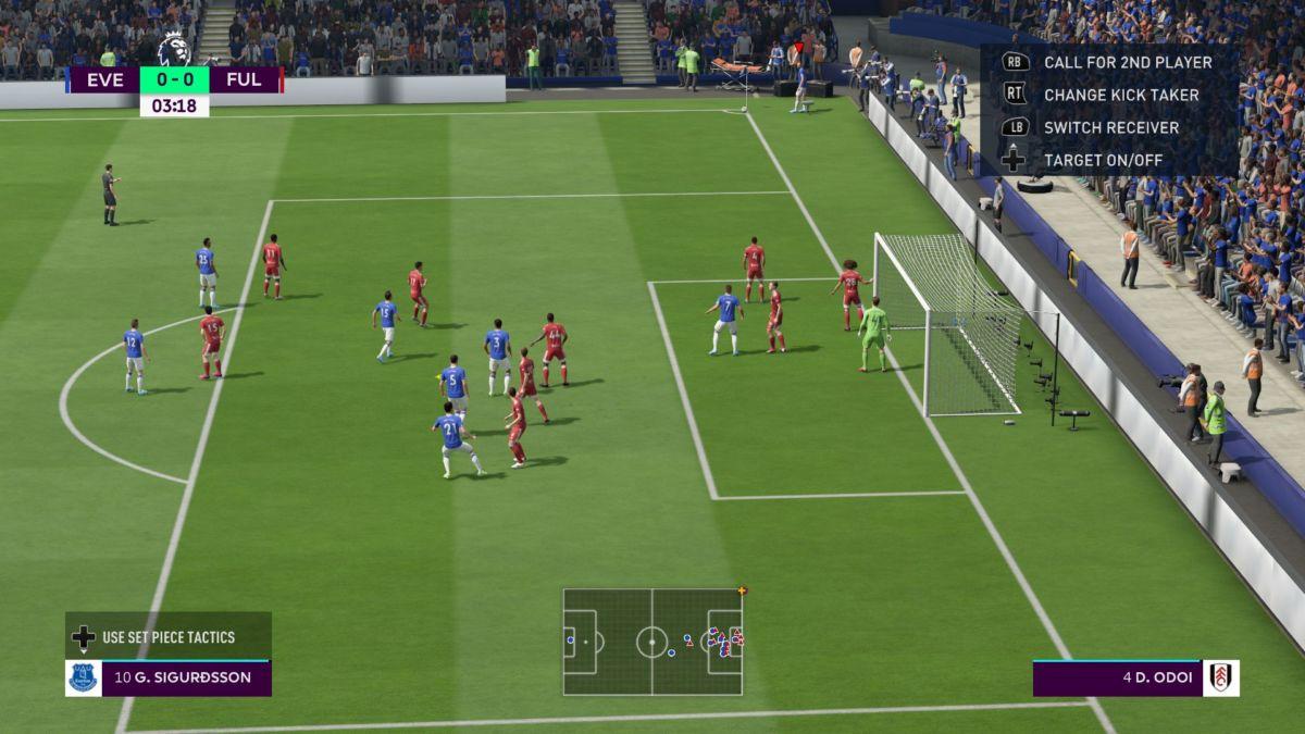 FIFA 20 tactics