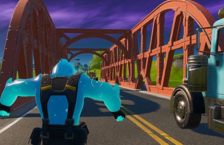 Fortnite Dance Red Bridge Dance At The Green Steel Bridge The Yellow Steel Bridge The Red Steel Bridge