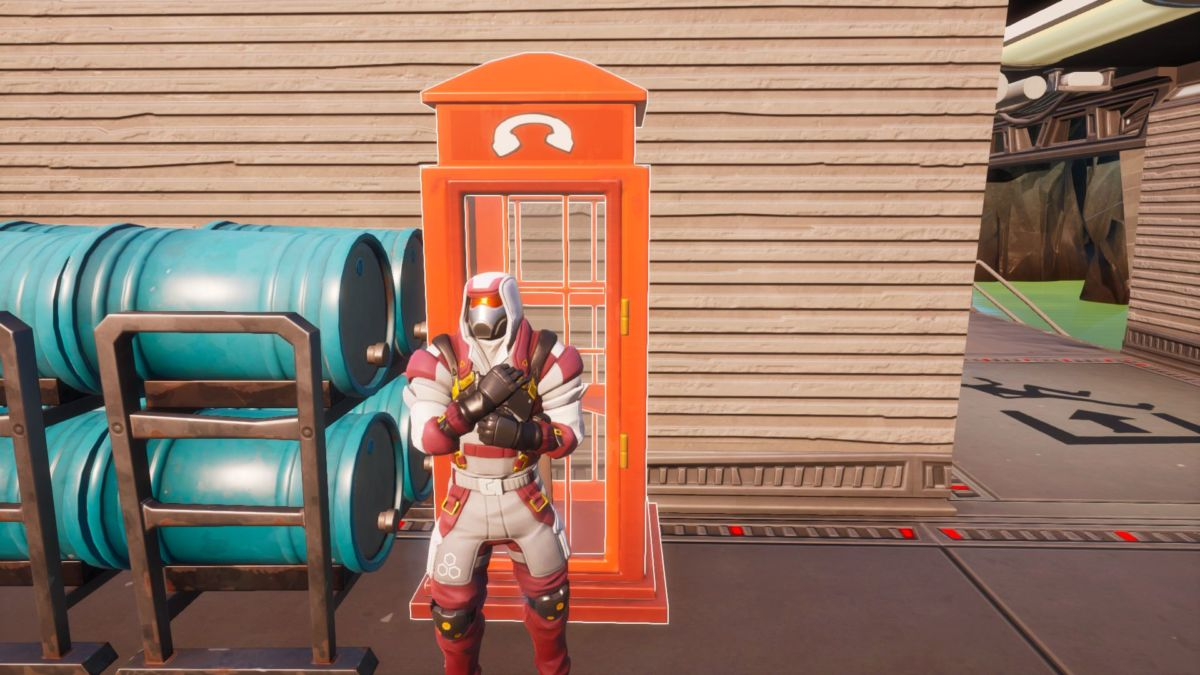 Fortnite Disguise Booth