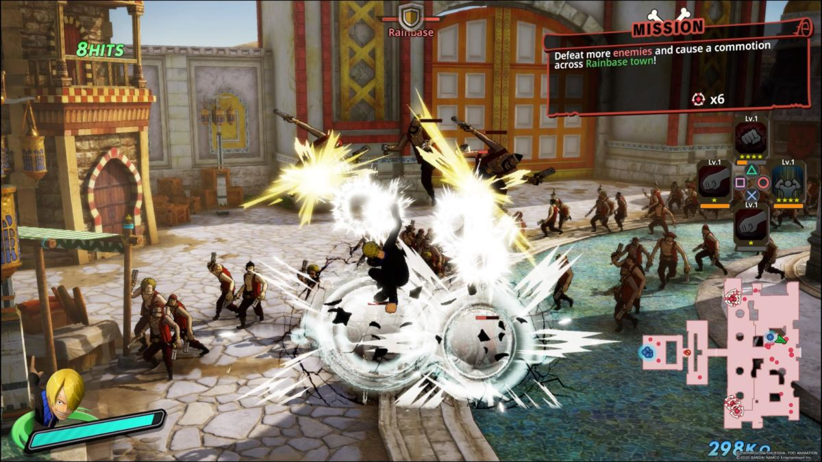 One Piece Pirate Warriors 4 REVIEW 6