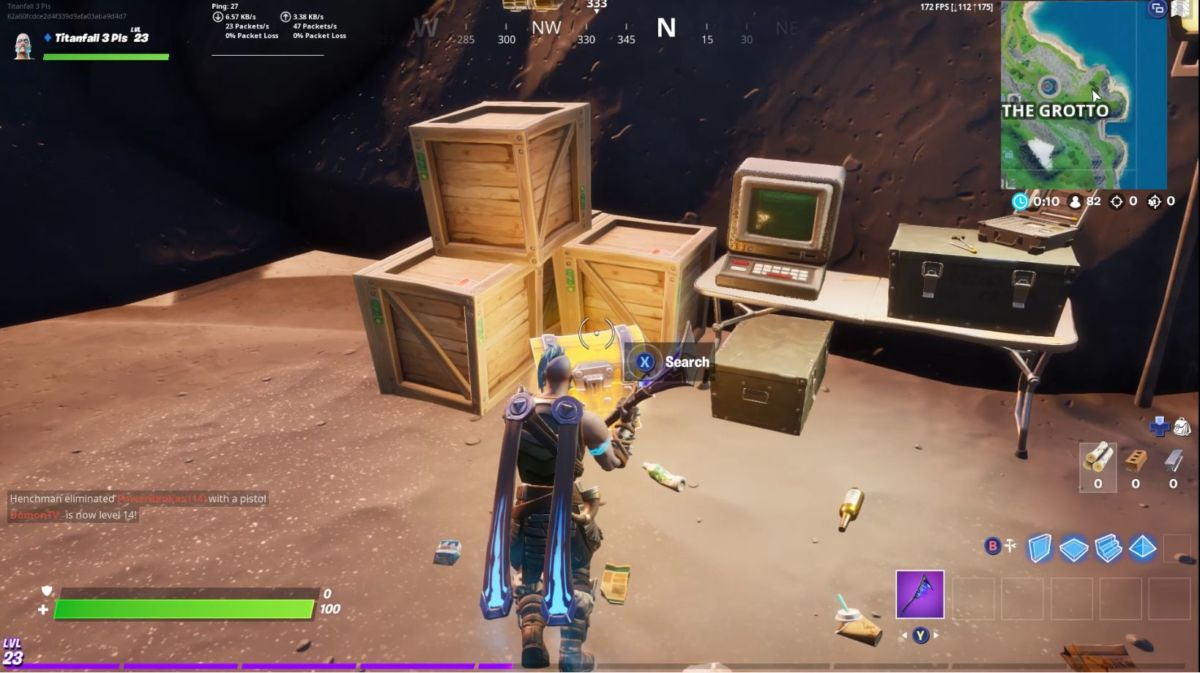 The Grotto chest