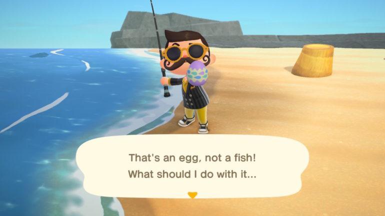 Animal Crossing New Horizons eggs