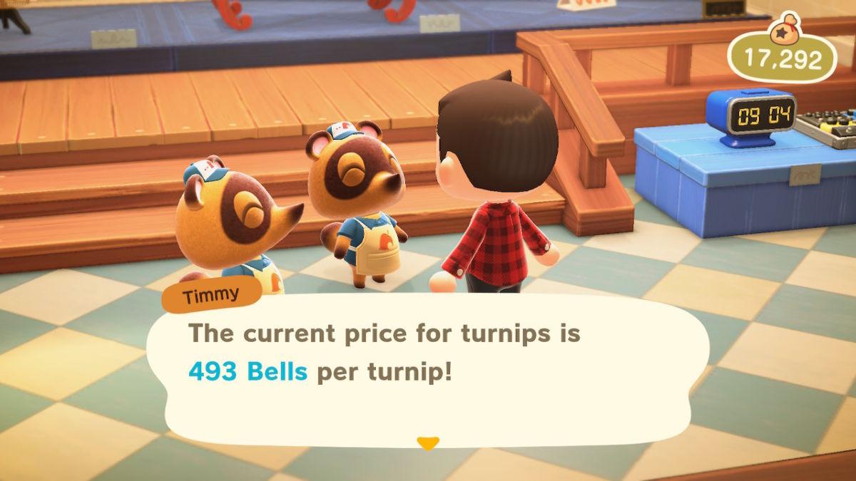 New Horizons turnip prices