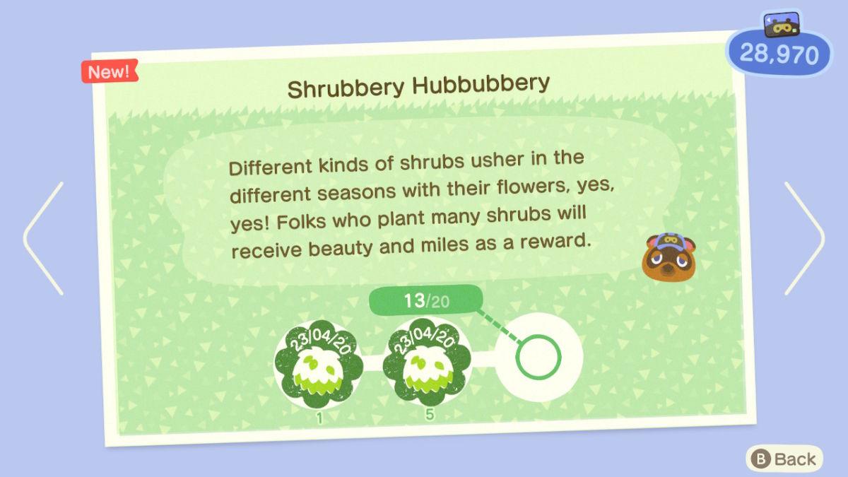 Shrub planting miles